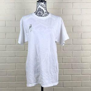 Hanes ComfortSoft Heavyweight White T-Shirt
